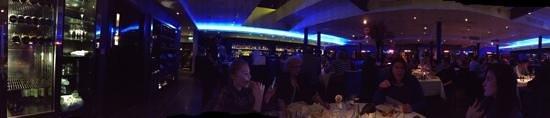 Albert's Restaurant & Bar: Sunday evening panorama