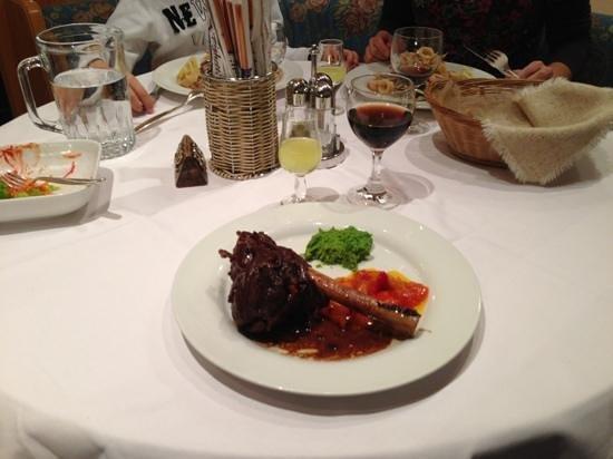Hotel Alpi:                   Ужин