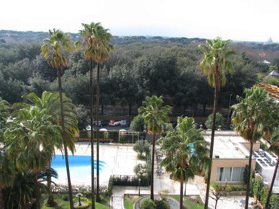 Parco dei Principi Grand Hotel & SPA:                   Vue de la chambre