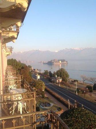 Grand Hotel des Iles Borromees & SPA:                   vue sur isola bella