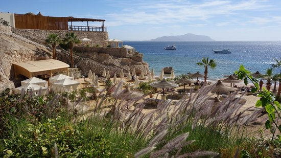 The Royal Savoy Sharm El Sheikh:                   Private beach.