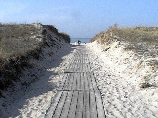 KurparkHotel Warnemünde: Strand