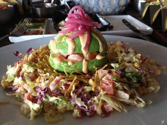 Venga Venga Cantina and Tequila Bar:                   Shrimp and Avocado Salad at Venga Venga