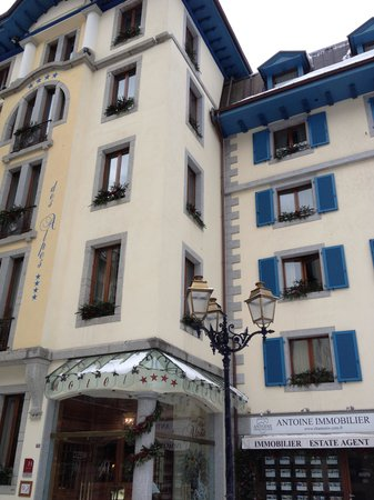 Grand Hôtel des Alpes: Enterance