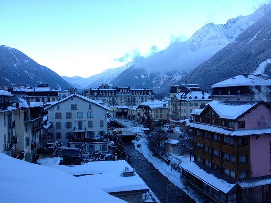 Grand Hôtel des Alpes: View from our room