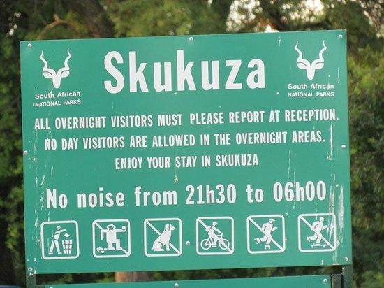Skukuza Rest Camp : Camp Skukuza
