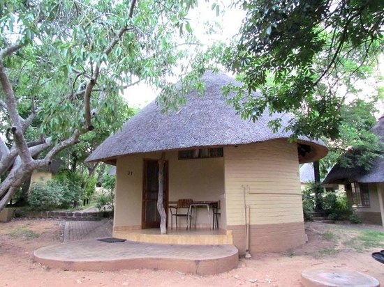 "Skukuza Rest Camp : Chambre ""case ronde africaine"""