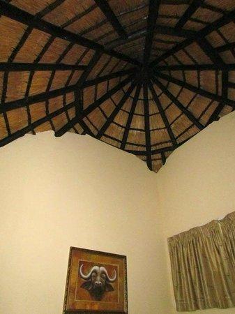 Skukuza Rest Camp : Plafond de la chambre