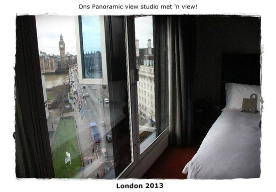 Park Plaza Westminster Bridge London:                   Room with a great view!