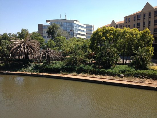 Centurion Lake Hotel: View from the room