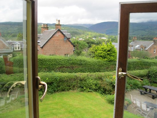 The Glenartney:                   Our room with a view