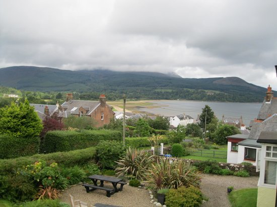 The Glenartney:                   view from our room overlooking the bay