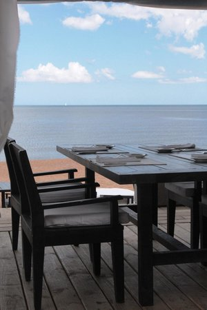 Serena Hotel Punta del Este: Having breakfast