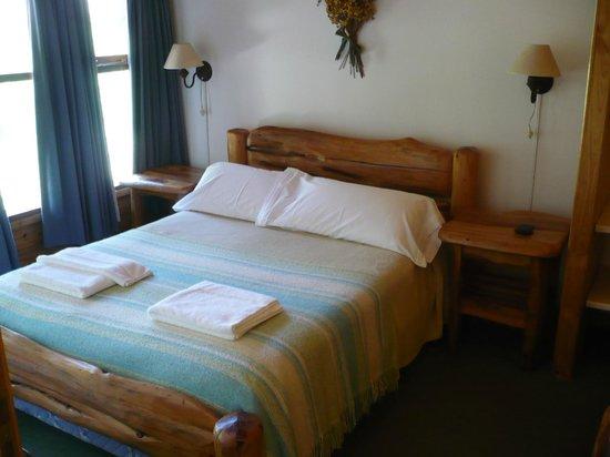 Cabañas Portal del Manzano: Dormitorio principal