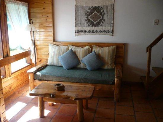 Cabañas Portal del Manzano: Living