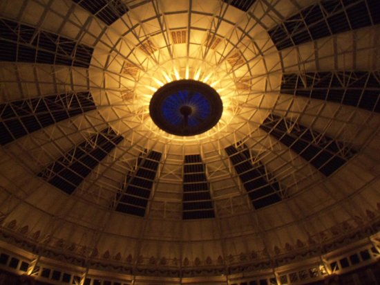 West Baden Springs Hotel:                   The Grand chandelier