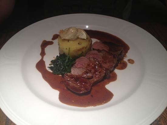 Chevin Country Park Hotel & Spa:                   Main course of 6 from taster menu