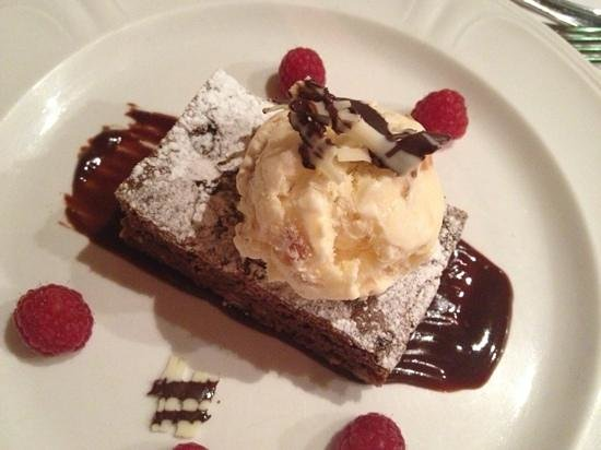 Chevin Country Park Hotel & Spa:                   heavenly brownie!!