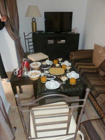 Riad Faiza GuestHouse-Hammam/Spa :                   Breakfast