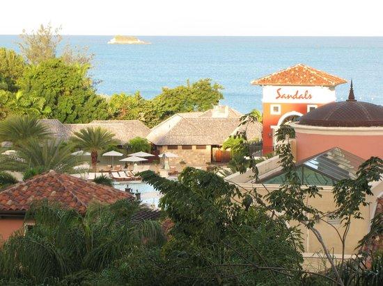 Sandals Grande Antigua Resort & Spa:                   View from balcony