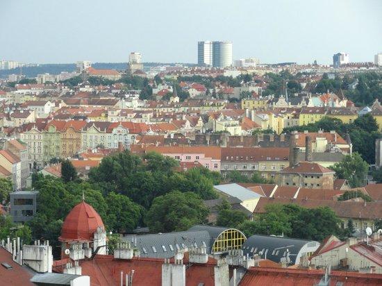 Le Palais Art Hotel Prague:                   vista desde el balcon de la habitacion