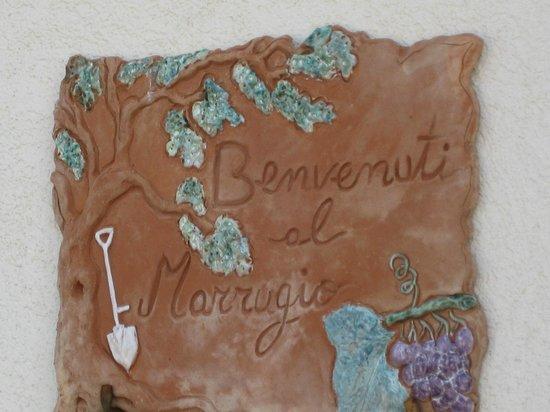 Il Marrugio:                   Ingresso all'Agriturismo