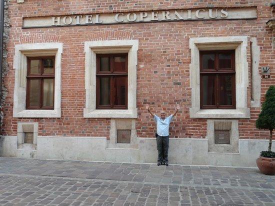 Hotel Copernicus:                   ventana de la habitacion