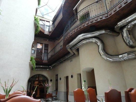 Hotel Copernicus:                   lobby
