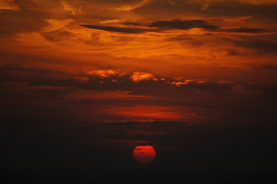 The Houben Hotel:                                     Perfect sunsets