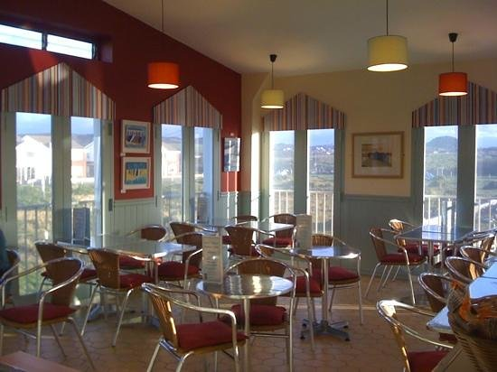 West Shore Beach Cafe:                                     love the new look