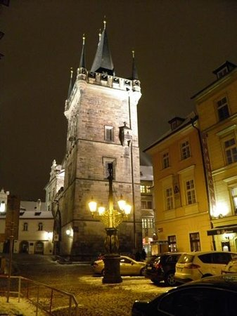 Hotel Pod Vezi: Charles Bridge Tower from the annex