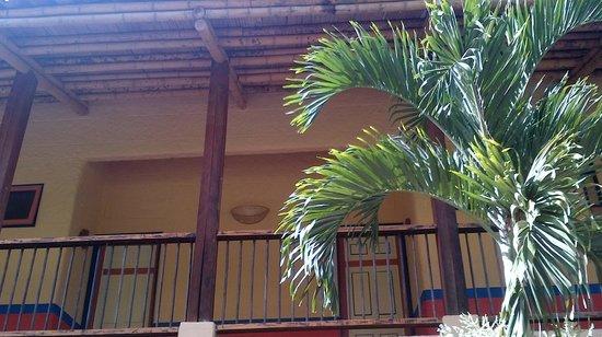 Decameron Panaca:                   Balcon de la habitacion