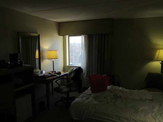 Quality Inn:                   Source of noise, I-287