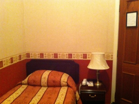 Royal Hotel:                   Room 201- small and stinky