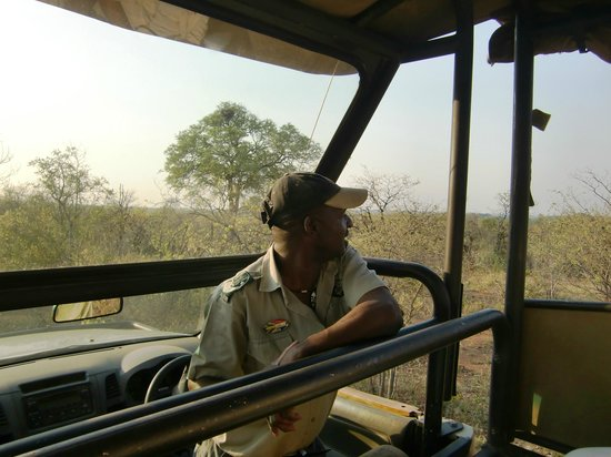 Sefapane Lodge and Safaris:                   Ranger Elias