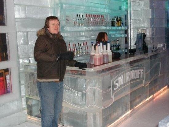 Xtracold Icebar Amsterdam: ice bar