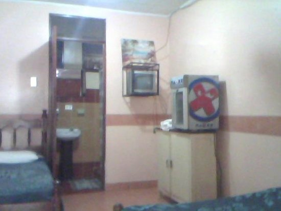 Cabinas Coco Azul: Double and single bed