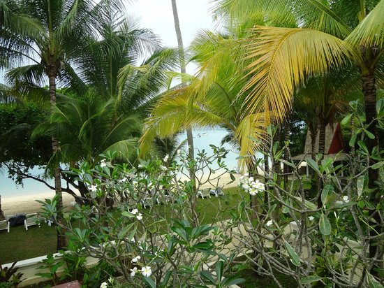 Panwa Boutique Beach Resort:                   View from the balcony.