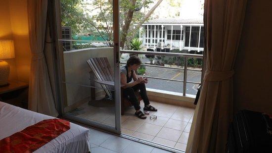 Bella Villa Prima Hotel: Klasse Balkon