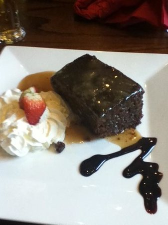 Penny Black:                   sticky toffee pudding! gorgeous!