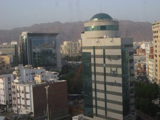 Al Eman Royal Hotel :                                     View from the room (1012)