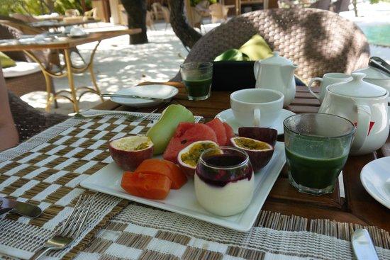 COMO Cocoa Island, The Maldives:                   завтрак