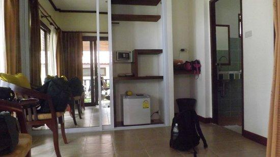 Am Samui Resort: Unser Bungalow Aus einem anderen Winkel