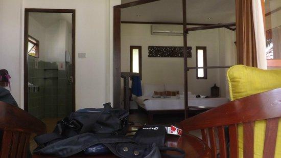 Am Samui Resort: Unser Bungalow