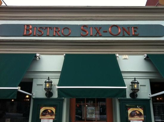 Bistro Six-One: Front entrance