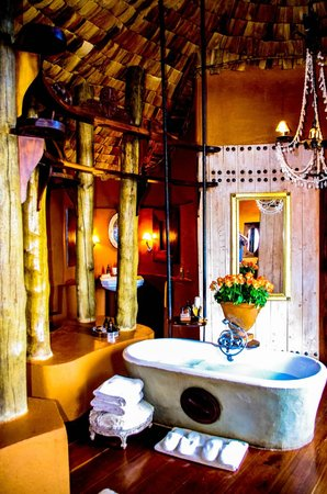 andBeyond Ngorongoro Crater Lodge:                   My new dream bathroom
