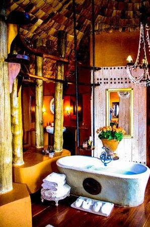 andBeyond Ngorongoro Crater Lodge:                   My new dream bathroom