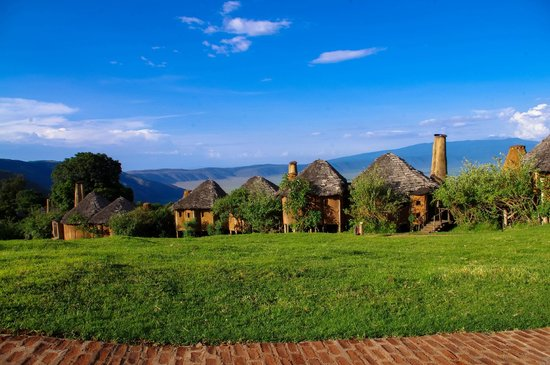 andBeyond Ngorongoro Crater Lodge:                   Breath-taking