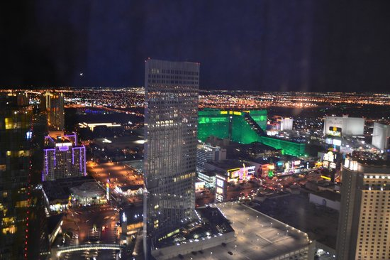 ARIA Resort & Casino:                   view from bedroom!