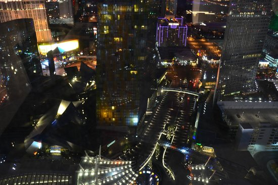 ARIA Resort & Casino:                   view from living room!